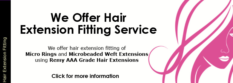Hair Extension Fitting